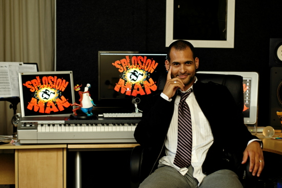 Joshua Mosley, composer of ''Splosion Man