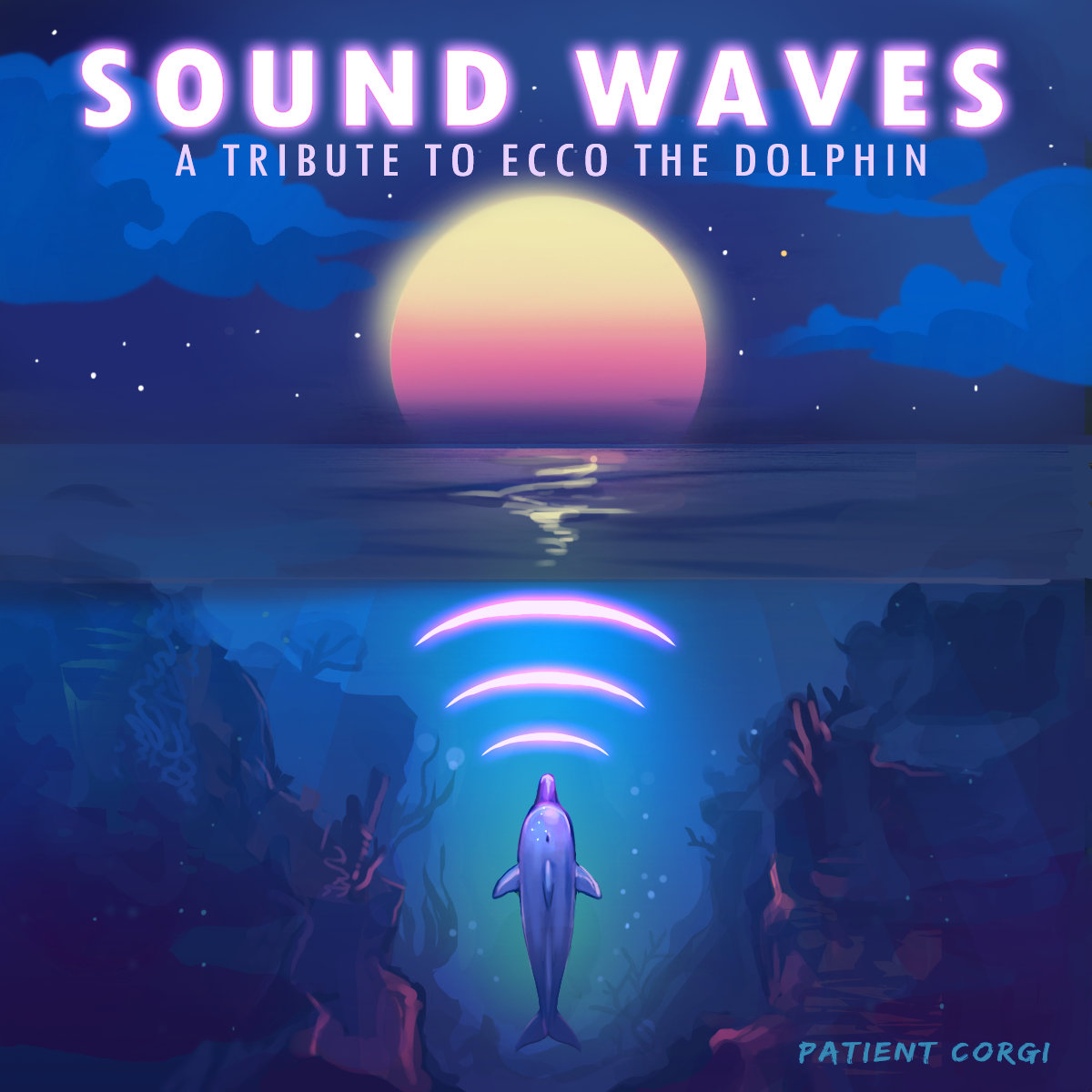 original sound version ecco the dolphin tribute released with sound waves. Black Bedroom Furniture Sets. Home Design Ideas
