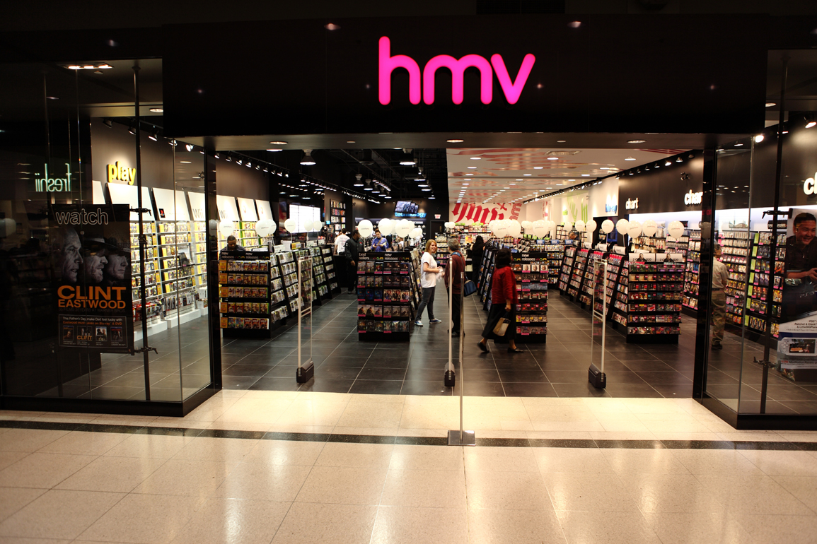hmv 111/112 royal victoria place shopping centre, tunbridge wells, kent.