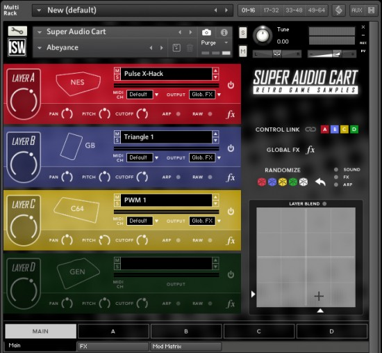 Audio Cart Abeyance Patch