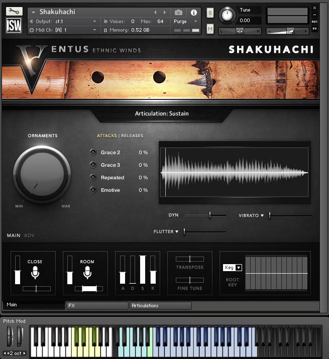 Original Sound Version Ventus Series: Shakuhachi (Review)