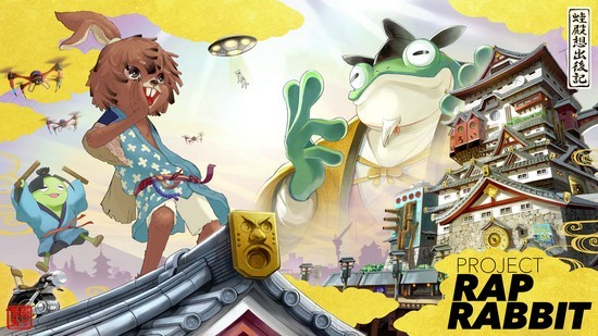 Rap Rabbit from PaRappa and Gitaroo Man Creators launches on Kickstarter