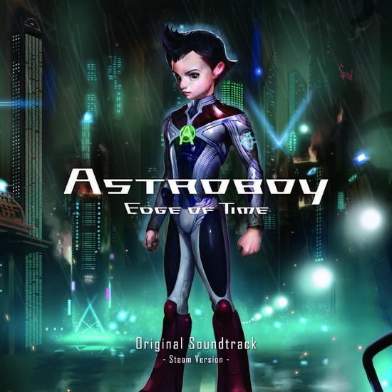 Akira Yamaoka scores the new Astro Boy Card Battler