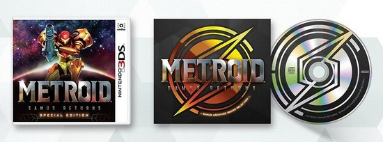 Metroid: Samus Returns special edition will include Series Soundtrack