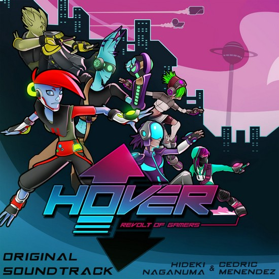 Hover: Revolt of Gamers summons Jet Set Radio, OST out now