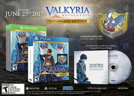 Sample Yasunori Mitsuda's Valkyria Revolution Soundtrack