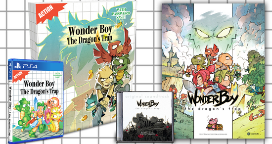 Wonder Boy: The Dragon's Trap & Soundtrack get Physical Release August 4th