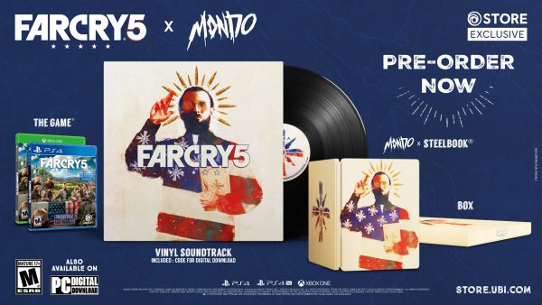Ubisoft and Mondo Release Far Cry 5 Vinyl with Special Edition Set