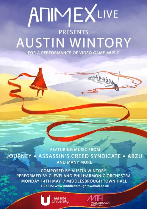 Animex Live Presents Austin Wintory @ Middlesbrough Town Hall