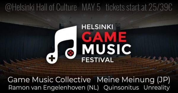 New Video Game Music Festival Debuting in Helsinki Finland This May