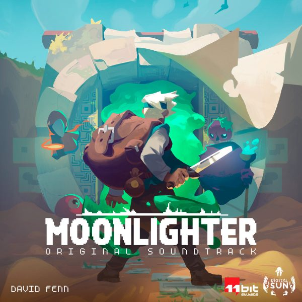 MOONLIGHTER ORIGINAL SOUNDTRACK by David Fenn Available Now!