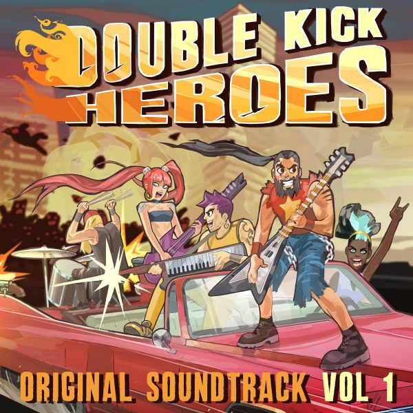 Headbang with Double Kick Heroes Original Game Soundtrack Now  Available