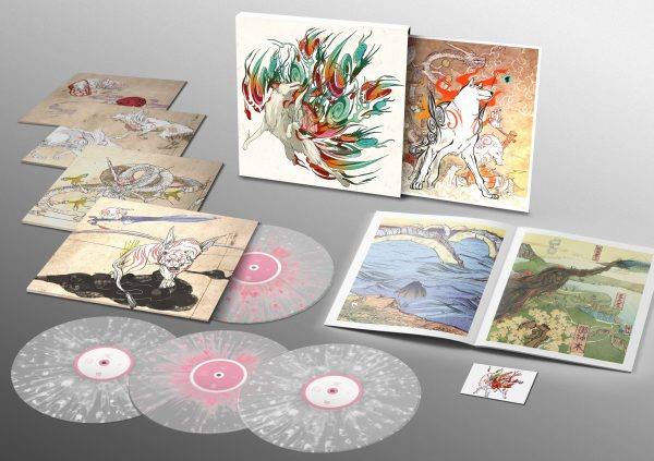 Data Discs Teams Up with Capcom to Release OKAMI Limited Edition Vinyl
