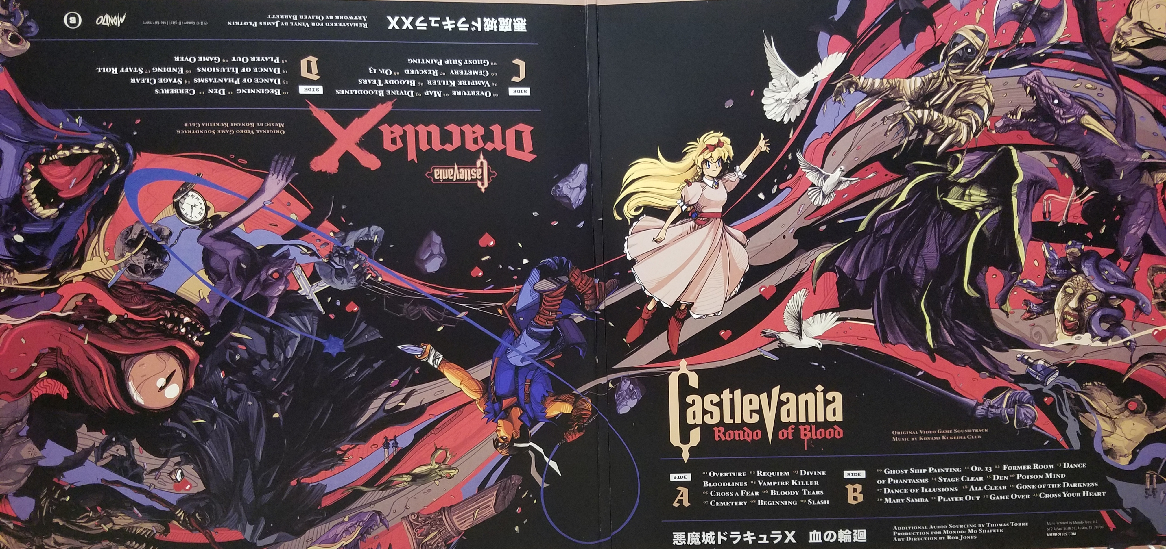 Original Sound Version Mondo of Blood - Castlevania Rondo of Blood