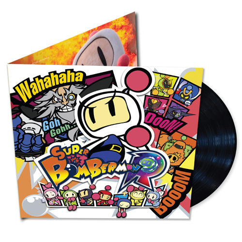 Konami and Sumthing Else Music Works Release Bomberman R Vinyl Soundtrack