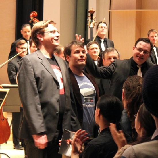 From left to right: Roger Wanamo, Jonne Valtonen, and Kimmo Tullila.