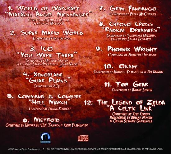 Video Games Live - LEVEL 5 album back