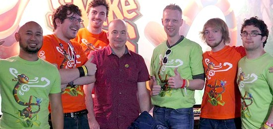 David Wise and the Sumo Digital team