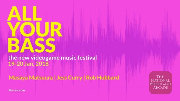 All Your Bass, Game Music Festival Debuts in England in 2018