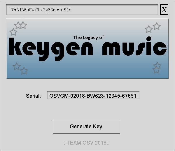 The Legacy of KeyGen Music: A Look at Tunes of the Key Cracker Era